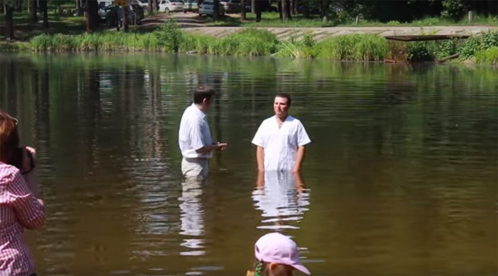 Крещение 2016 (5 июня воскресенье)