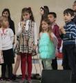 Дети выступили со стихами и сценкой