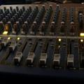 our church'es desk (music control panel deck)